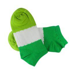 این عکس، تصویر محصول جوراب مچی Funny Socks طرح سه رنگ مدل HSM128 را نمایش میدهد