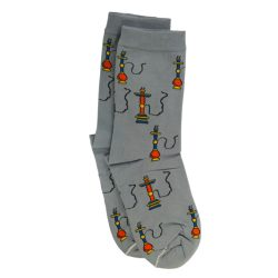 جوراب ساق دار طرح قلیان مدل TSS101