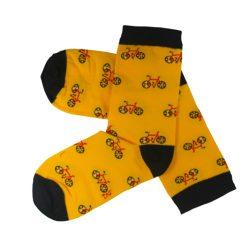 جوراب ساق دار طرح دوچرخه