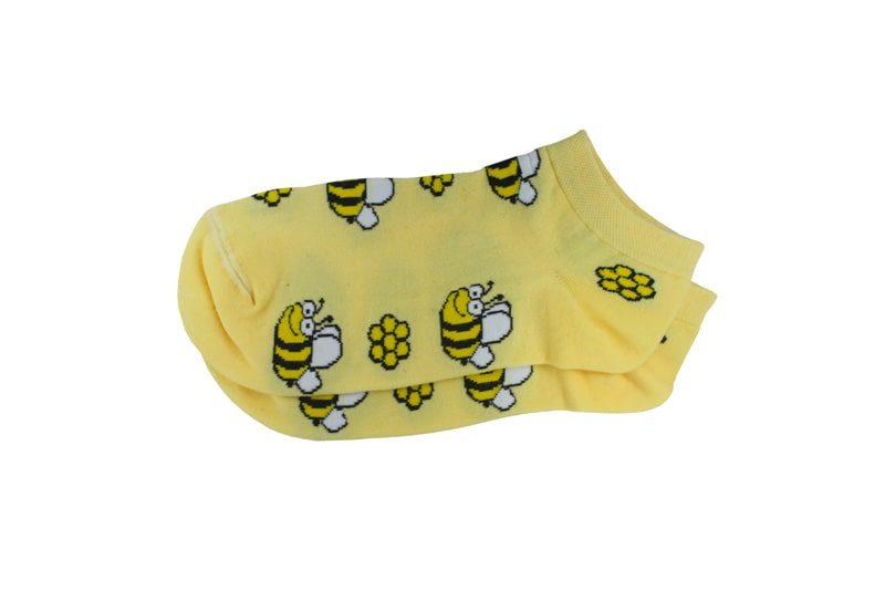 جوراب مچی طرح زنبور خندان مدل HSM152