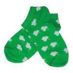 جوراب مچی سبز طرح گشنیز