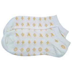 جوراب مچی سفید طرح Symbols