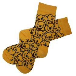جوراب ساق دار طرح خرس های مهربون مدل HSS140