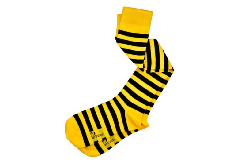 جوراب ساق بلند طرح زنبوری پاتریس مدل PSB285