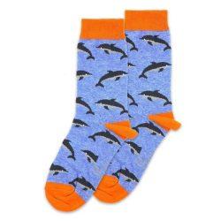 جوراب ساق دار طرج دلفین مدلPSS312