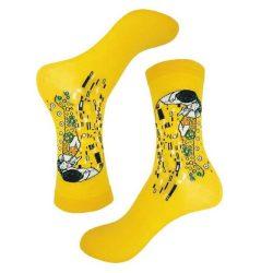 جوراب ساق دار طرح نقاشی بوسه گوستاو مدل PSS349