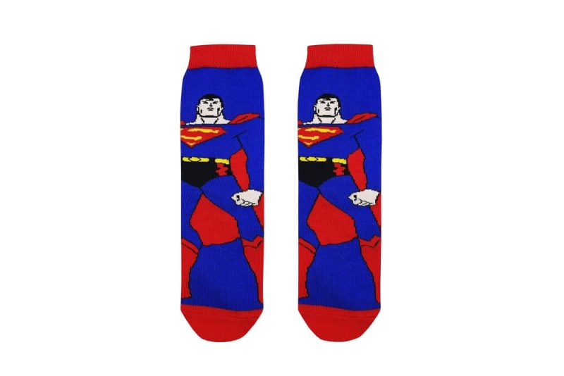 جوراب بچگانه ساق دار طرح سوپرمن مدل PSSK424
