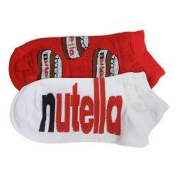 جوراب مچی لنگه به لنگه طرح نوتلا (Nutella) مدل HSM482