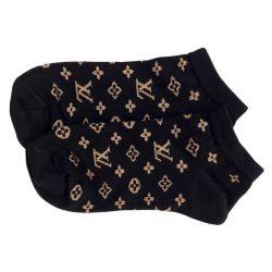 جوراب مچی مشکی طرح لویی ویتون (Louis Vuitton) مدل HSM509