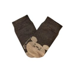 جوراب بچگانه تا به تا طرح موش و پنیر مدل HSMK594