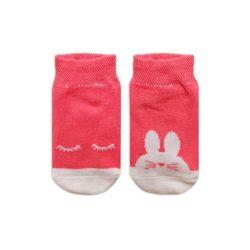 جوراب بچگانه تا به تا طرح خرگوش مدل HSMK595