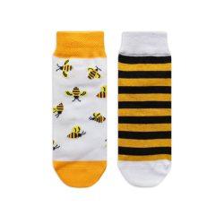 جوراب بچگانه تا به تا طرح زنبور مدل HSMK624