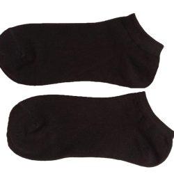 جوراب مچی مردانه مشکی سادهHSM706