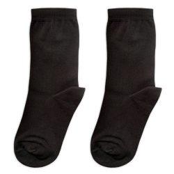 جوراب ساق دار ساده مشکی مدل HSS666