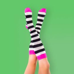 جوراب زیر زانو زنانه