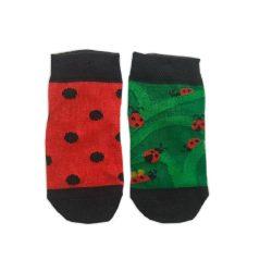 جوراب بچگانه تا به تا طرح کفشدوزک