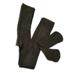 جوراب شلواری بافت زنانه گندم یشمی