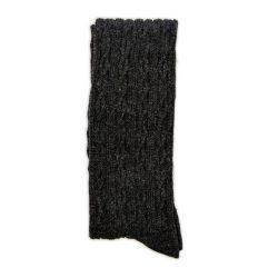 جوراب بافت بالای زانو شاین ذغالی